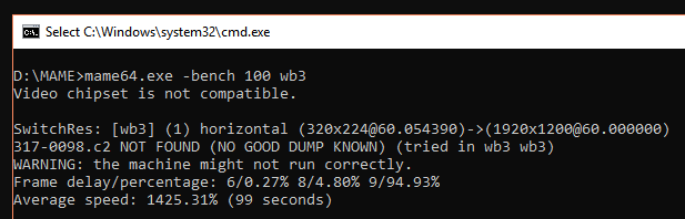 GroovyMame richtig einstellen. (frame_delay, Portaudio, sonstige Tweaks)